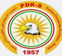 الديمقراطي الكوردستاني – سوريا يدين هجمات الفصائل الاسلامية على الشيخ مقصود