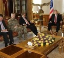 الرئيس بارزاني وممثل أوباما يبحثان الأوضاع في سوريا ومستقبل هذا البلد وفكرة الفدرالية كنظام الحكم فيه
