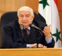 المعلم يصل الجزائر في زيارة مفاجئة لإيجاد حل لأزمة سوريا