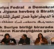 """قيادي كوردي سوري : إعلان """"فيدرالية شمال سوريا"""" جاء بالتنسيق مع واشنطن وموسكو"""