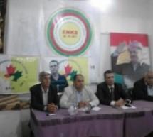 الاوضاع الراهنة في المنطقة ومؤتمر جنيف 3 عنوان محاضرة سياسية لتيار المستقبل الكردي في سوريا في كركي لكي