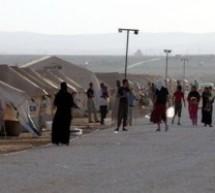 الممثلة الأمريكية آشلي جود تزور مخيم الزعتري للاجئين السوريين