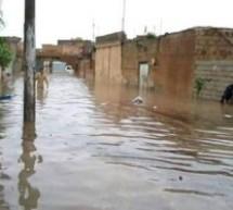 بالصور ..الأمطار الغزيرة تتسبب بحدوث فيضانات في القامشلي بكوردستان سوريا