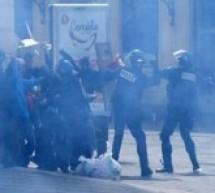 مواجهات عنيفة بين أنصار العمال الكوردستاني وأتراك موالين لأردوغان في مونبيليه الفرنسية