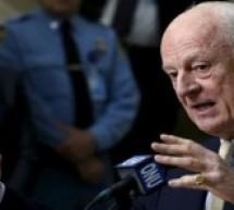 دي ميستورا:محادثات جنيف المقبلة يجب أن تقود لبداية الانتقال السياسي في سوريا