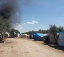 داعش يسيطر على مخيم باب السلامة للنازحين السوريين