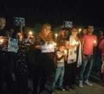 أقليم كوردستان :شباب تيار المستقبل الكوردي في سورية ينظم مسيرة شموع في مخيم دار شكران