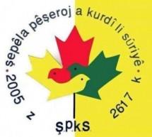رسالة مسؤولة  الاتحاد النسائي الكوردي في سوريا رودوز الانسة نجاح هيفو بمناسبة مرور خمسة عشر عاما لتأسيس تيار المستقبل الكردي في سوريا