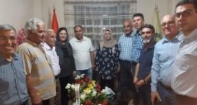 تيار المستقبل الكوردي في سوريا يهنئ حزب الوحدة الديمقراطي بمناسبة افتتاح مقرهم