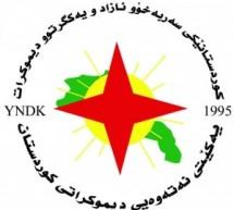 رسالة حزب الاتحاد القومي الديمقراطي الكردستاني yndk بمناسبة مرور خمسة عشر عاما لتأسيس تيار المستقبل الكوردي في سوريا