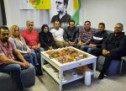 الهيئة القيادية  لتيار المستقبل الكوردي في اوربا يستذكر قائده مشعل تمو في منزل شهيدتهم الحية زاهدة رشيكلو