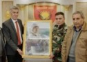 تيار المستقبل الكوردي في سوريا يهنئ العقيد دلوفان روباري بمناسبة تسنمه  قيادة لشكري روچ