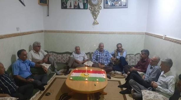 تيار المستقبل الكوردي في سوريا توقد الشموع في دهوك تخليدا لذكرى قائده الشهيد مشعل تمو